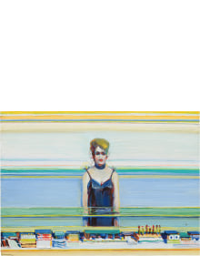 Wayne Thiebaud - Cosmetic Lady