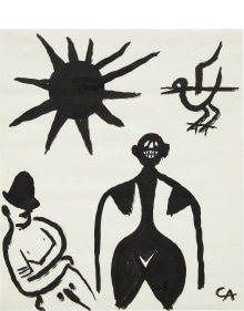 Alexander Calder - Untitled (Man, Woman, Bird and Sun)