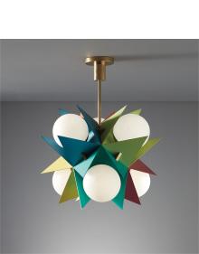 Angelo Lelii - Rare ceiling light, model no. 12776