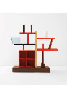 "Ettore Sottsass, Jr. - ""Liana"" bookshelf"