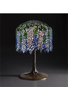 "Tiffany Studios - ""Wisteria"" table lamp"