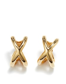 Donald Claflin for Tiffany & Co. - A Pair of Gold Earrings