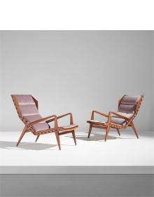 Gio Ponti - Pair of armchairs, model no. 1811