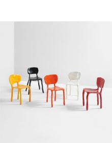 """Maarten Baas - Set of five """"Clay"""" children's chairs"""