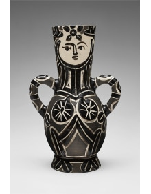 Pablo Picasso - Vase deux anses hautes (Vase with Two High Handles, The Queen)