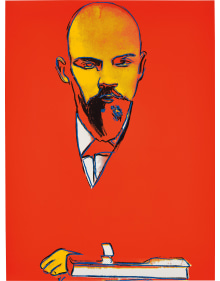 Andy Warhol - Red Lenin