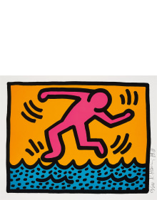 Keith Haring - Pop Shop II: one plate