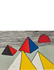 Alexander Calder - Untitled, from La Mémoire elémentaire (Elementary Memory)
