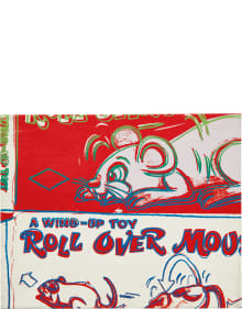 Andy Warhol - Rollover Mouse from the series Toy Paintings
