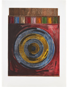 Jasper Johns - Target with Plaster Casts
