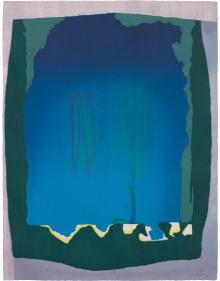 Helen Frankenthaler - Freefall
