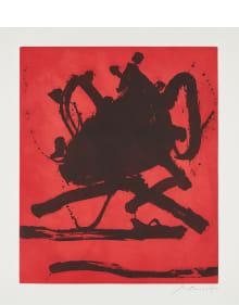 Robert Motherwell - Red Sea II