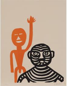 Alexander Calder - Les Affichistes (The Poster Artists)