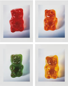 Vik Muniz - Gummy Bears