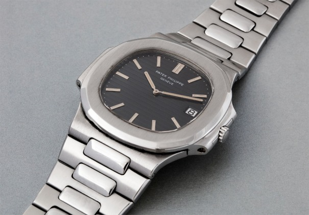 b825c41c000 An attractive and very exclusive stainless steel wristwatch with date and  bracelet