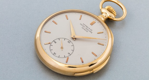 A very fine and attractive yellow gold minute repeating open face watch, retailed by Tiffany & Co.