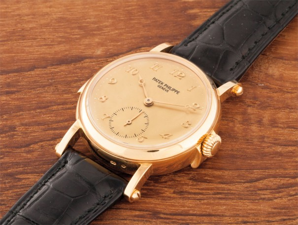 A very rare and important yellow gold limited edition minute repeating wristwatch with original certificate, Attestation, Controle Officiel Suisse des Chronometre, commemorative medallion, product literature and box, made to celebrate the inauguration of the new Patek Philippe workshops in Plan-Les-Quates