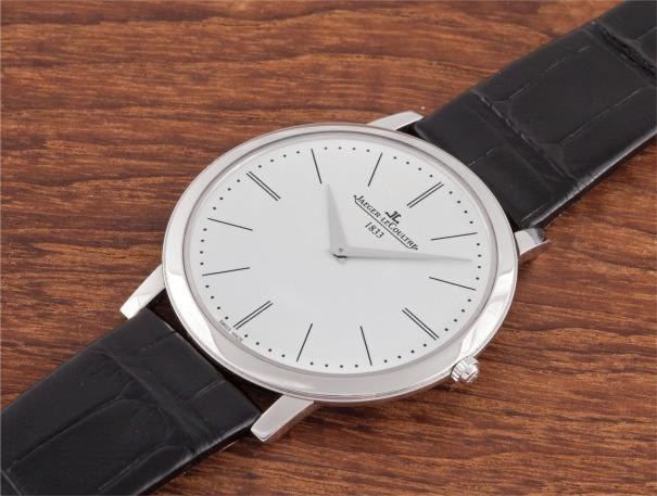 A rare limited edition platinum wristwatch