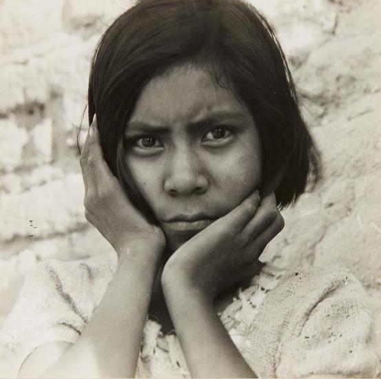 Daughter of Mexican Field Laborer, near Chandler, Arizona