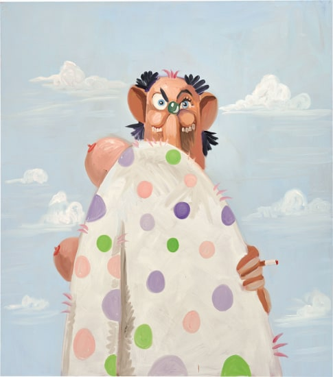 George Condo The Homeless Hobo 2009 Phillips