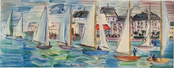 Régates à Deauville