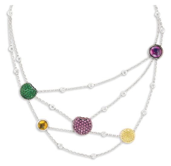 A Gem-set and Diamond Necklace, Boucheron
