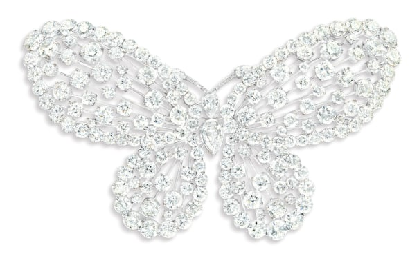 A Unique and Glamorous Diamond 'Butterfly' Brooch, Graff, Circa 2013