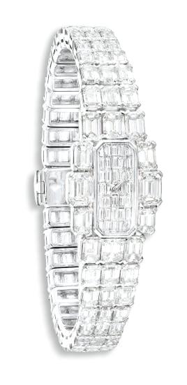 A Superb Diamond Wristwatch, Lady Kalla, Vacheron Constantin