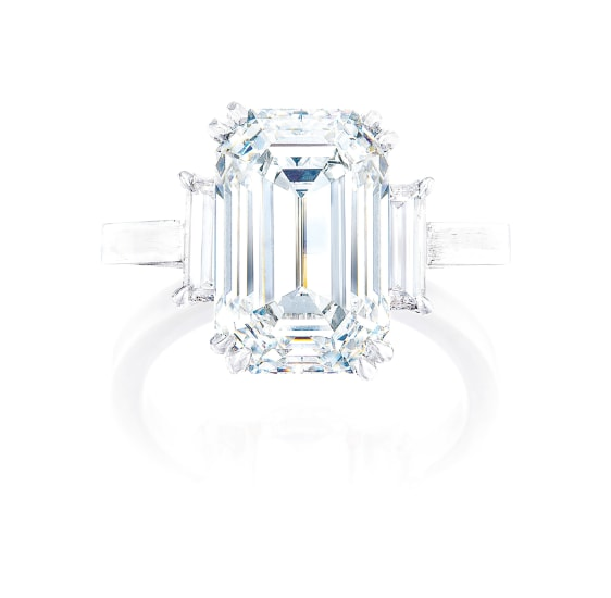 A Very Fine Diamond Ring