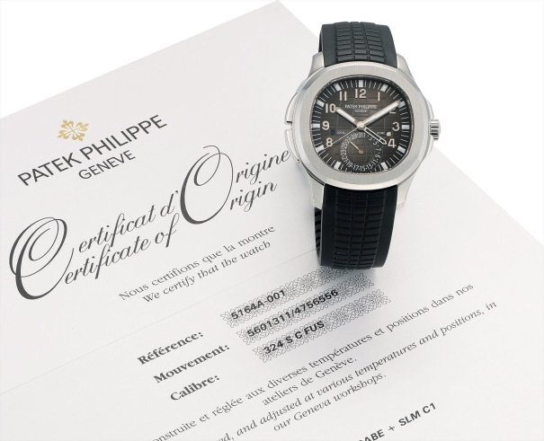 A fine stainless steel cushion-shaped dual time wristwatch with sweep centre seconds, date, day and night indicator, original certificate and fitted presentation box