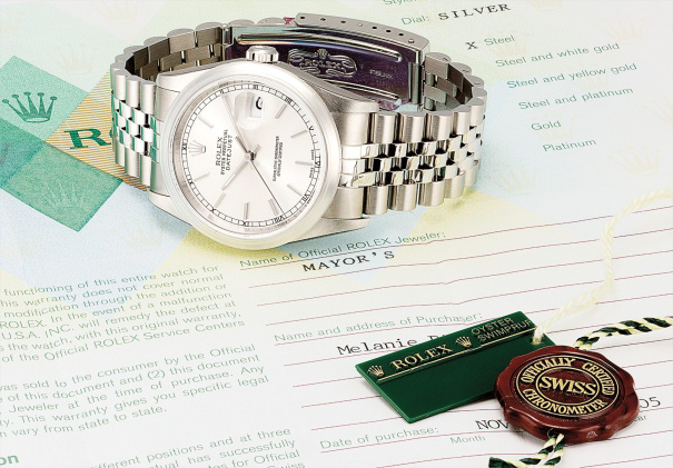 A rare stainless steel wristwatch with sweep centre seconds, date and bracelet, made for the Hard Rock Cafe