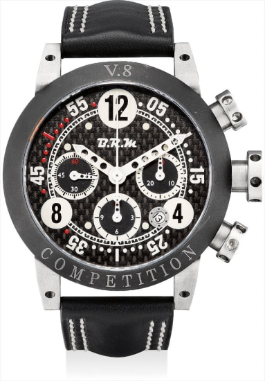 A titanium chronograph wristwatch with date