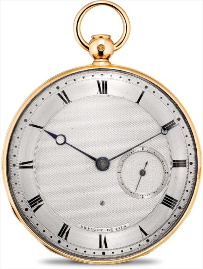 A fine and rare 20k pink gold half quarter repeater openface pocket watch with jump hour hand
