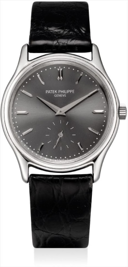 A stainless steel limited edition wristwatch, made for the Japanese market to commemorate the 150th anniversary of Patek Philippe