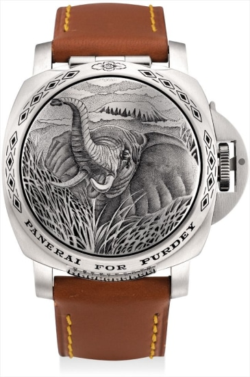 A fine stainless steel limited edition cushion-shaped wristwatch with concealed dial and date