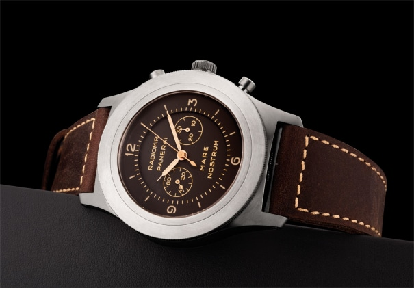 A fine titanium limited edition chronograph wristwatch