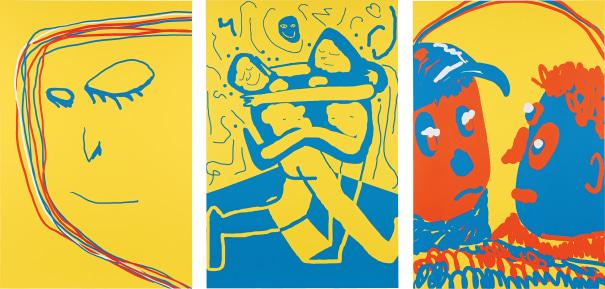 Three Works: (i) Rainbow; (ii) Peer; (iii) Collaboration