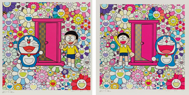 Two Works: (i) Anywhere Door (Dokodemo Door) in the Field of Flowers (ii) We Came to the Field of Flowers through Anywhere Door