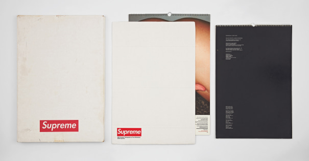 Two works: (i) Supreme x Terry Richardson 2003 Calendar; (ii) Supreme x Larry Clark 2005 Calendar