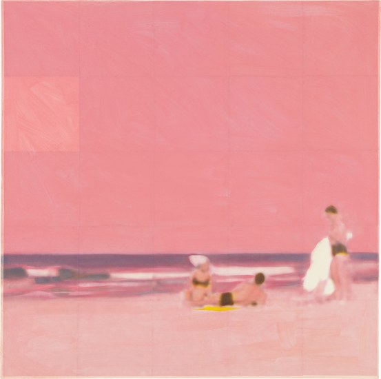 Three Bathers (Pink)