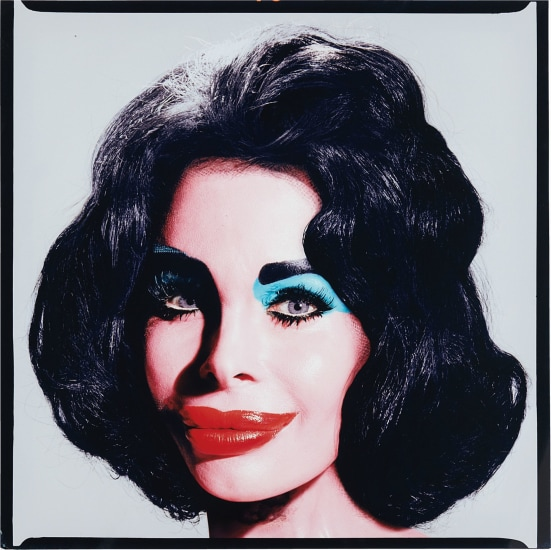 Amanda As Andy Warhol's Liz Taylor