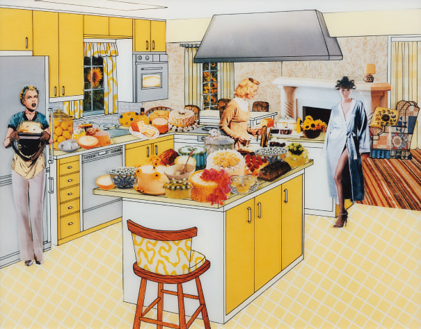 The Instant Decorator (Yellow Kitchen)