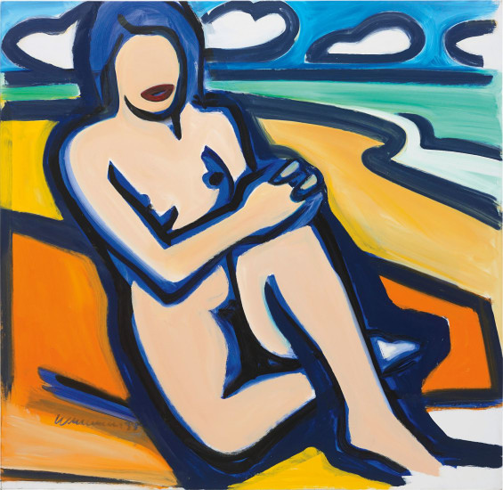 Blue Nude Drawing (12/17/99)