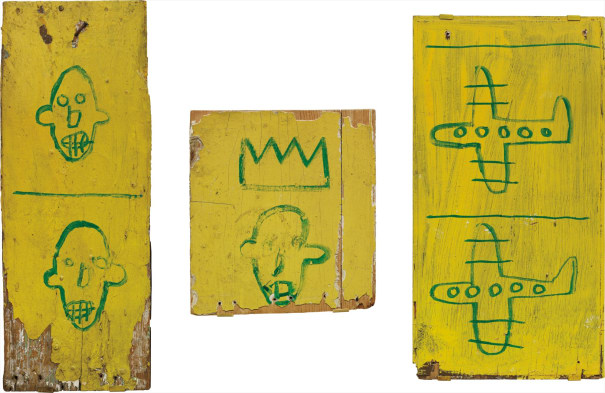 Untitled (Wooden Triptych)