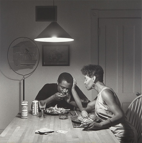 The Kitchen Table Series: Untitled (Eating Lobster)