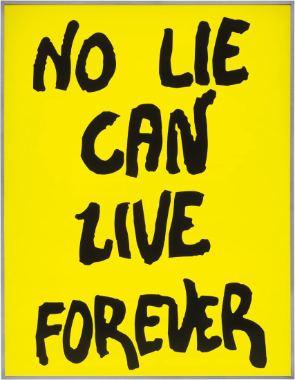 No Lie Can Live Forever