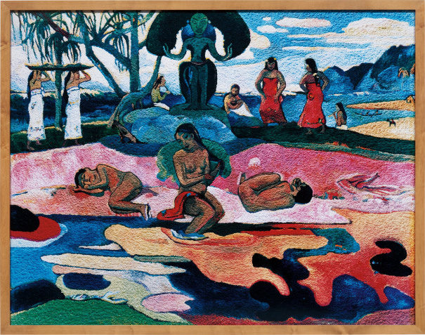 Day of the Gods (Mahana No Atua), After Gauguin (from Pictures of Pigment)