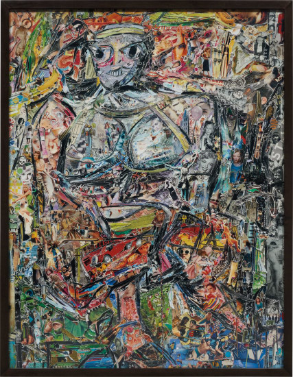 Woman I, After de Kooning (Pictures of Magazines 2)