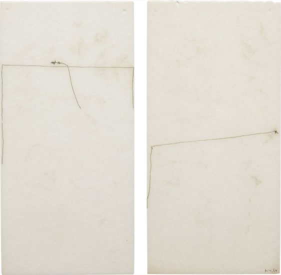 Two works: Untitled
