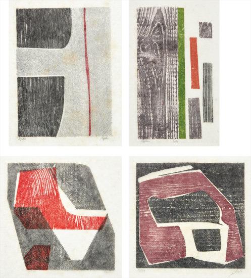 Four works: Untitled (Tecelar)